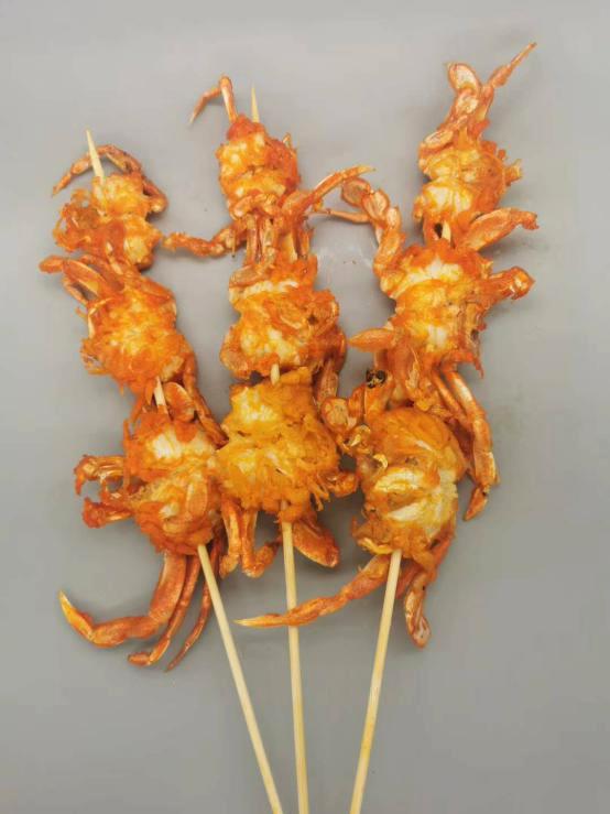 香辣螃蟹串
